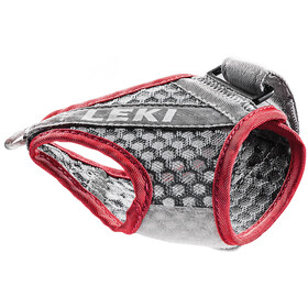 LEKI Shark Frame Strap Mesh, grey/red